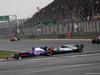 GP CINA, 09.04.2017 - Gara, Daniil Kvyat (RUS) Scuderia Toro Rosso STR12 e Valtteri Bottas (FIN) Mercedes AMG F1 W08