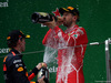 GP CINA, 09.04.2017 - Gara, 2nd place Sebastian Vettel (GER) Ferrari SF70H e 3rd place Max Verstappen (NED) Red Bull Racing RB13