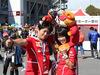 GP GIAPPONE, 08.10.2017- Kimi Raikkonen (FIN) Ferrari SF70H fans