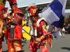 GP GIAPPONE, 08.10.2017- Ferrari Fans dressed like Samurai