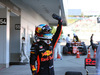 GP GIAPPONE, 08.10.2017- Festeggiamenti in parc fermee, Daniel Ricciardo (AUS) Red Bull Racing RB13
