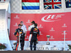 GP GIAPPONE, 08.10.2017- Gara, the podium: winner Lewis Hamilton (GBR) Mercedes AMG F1 W08 , 2nd Max Verstappen (NED) Red Bull Racing RB13 e 3rd Daniel Ricciardo (AUS) Red Bull Racing RB13