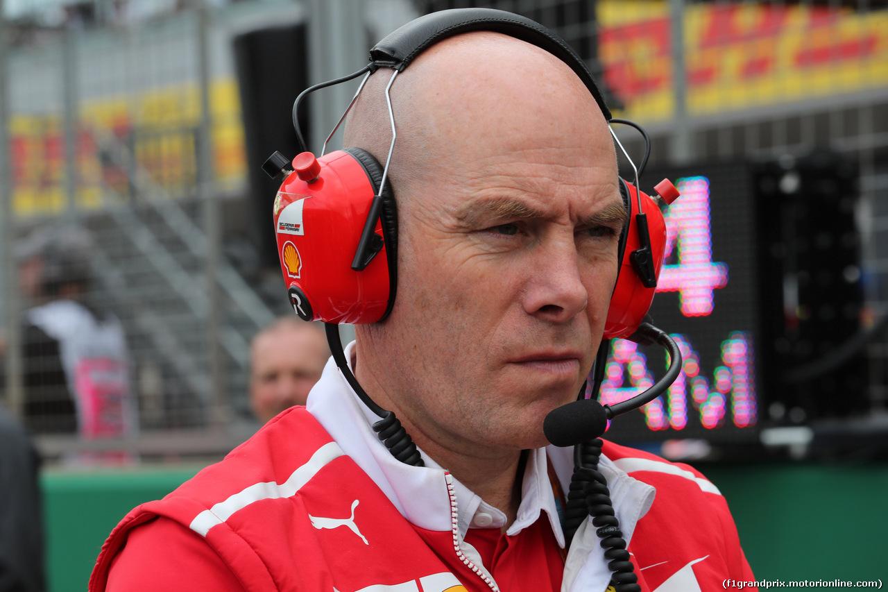 GP GRAN BRETAGNA, 16.07.2017 - Gara, Jock Clear (GBR) Ferrari Engineering Director