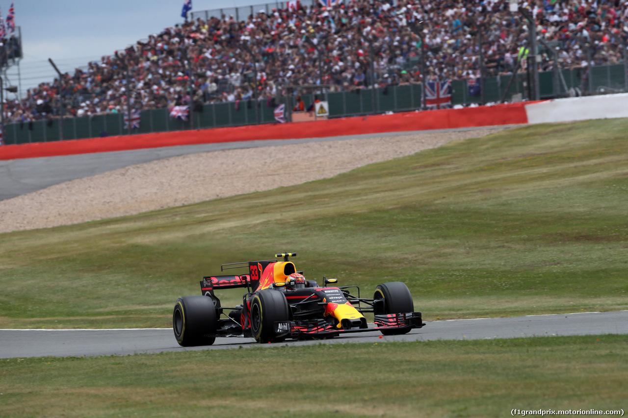 GP GRAN BRETAGNA, 16.07.2017 - Gara, Max Verstappen (NED) Red Bull Racing RB13