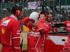 GP GRAN BRETAGNA, 16.07.2017 - Gara, Riccardo Adami (ITA) Ferrari Gara Engineer e Sebastian Vettel (GER) Ferrari SF70H