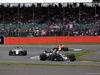 GP GRAN BRETAGNA, 16.07.2017 - Gara, Romain Grosjean (FRA) Haas F1 Team VF-17 davanti a Lance Stroll (CDN) Williams FW40