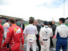 GP GRAN BRETAGNA, 16.07.2017 - Gara, Chase Carey (USA) Formula One Group Chairman e Fernando Alonso (ESP) McLaren MCL32