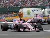 GP GRAN BRETAGNA, 16.07.2017 - Gara, Esteban Ocon (FRA) Sahara Force India F1 VJM10 e Sergio Perez (MEX) Sahara Force India F1 VJM010