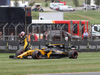 GP GRAN BRETAGNA, 16.07.2017 - Gara, Jolyon Palmer (GBR) Renault Sport F1 Team RS17 retires from the race