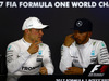 GP GRAN BRETAGNA, 16.07.2017 - Gara, Conferenza Stampa, Valtteri Bottas (FIN) Mercedes AMG F1 W08 e Lewis Hamilton (GBR) Mercedes AMG F1 W08
