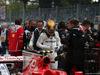 GP ITALIA, 02.09.2017- Qualifiche celebration: pole position Lewis Hamilton (GBR) Mercedes AMG F1 W08