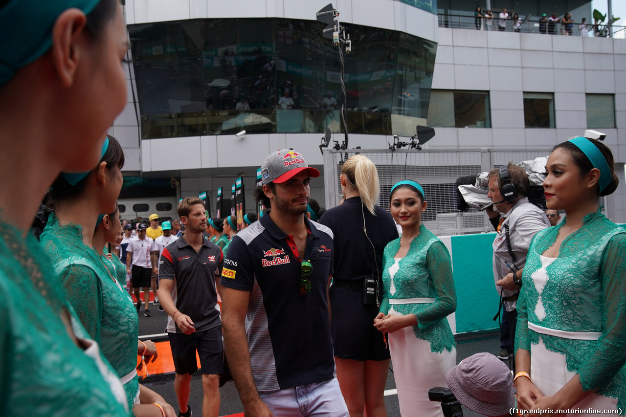 GP MALESIA, 01.10.2017 - Carlos Sainz Jr (ESP) Scuderia Toro Rosso STR12