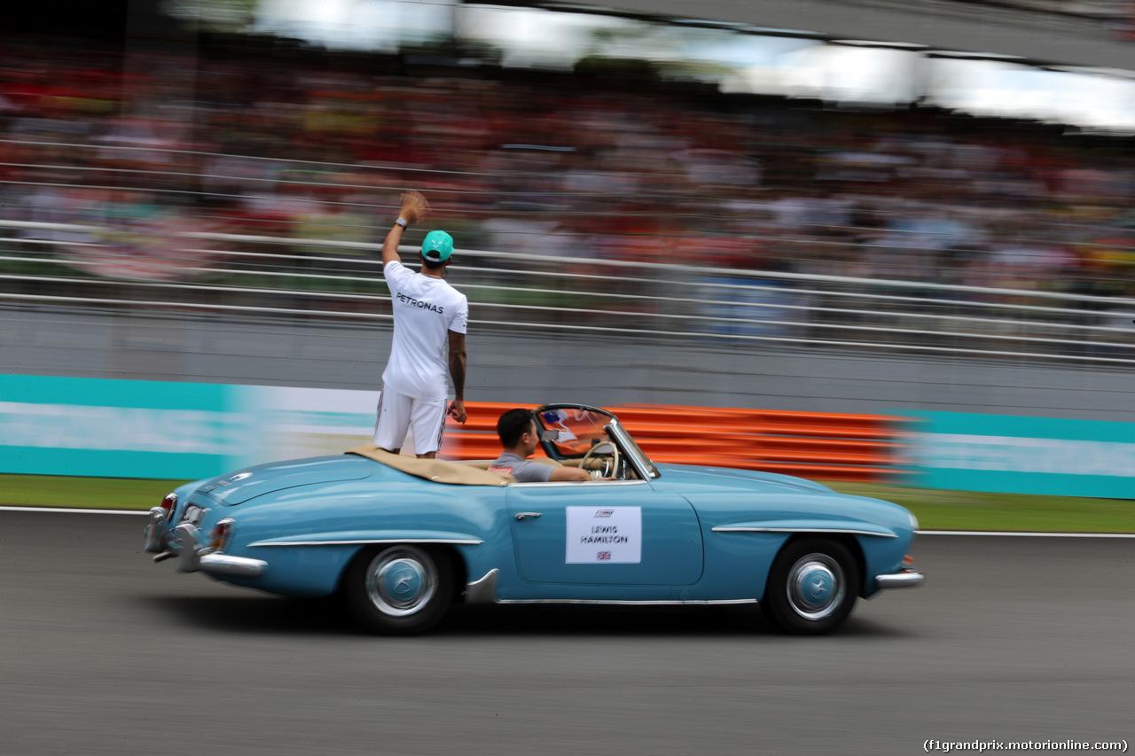 GP MALESIA, 01.10.2017 - Lewis Hamilton (GBR) Mercedes AMG F1 W08