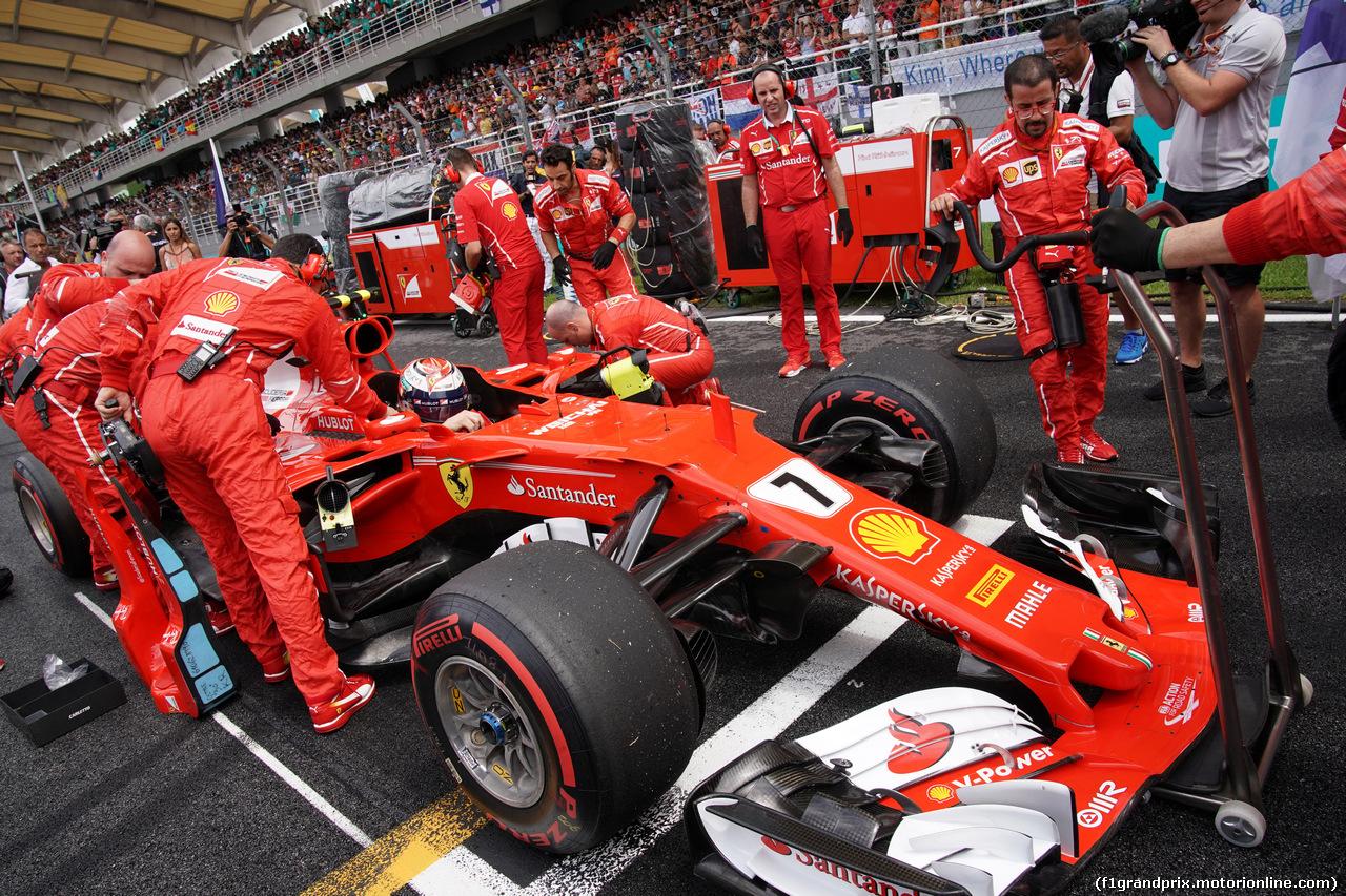 GP MALESIA, 01.10.2017 - Gara, Kimi Raikkonen (FIN) Ferrari SF70H