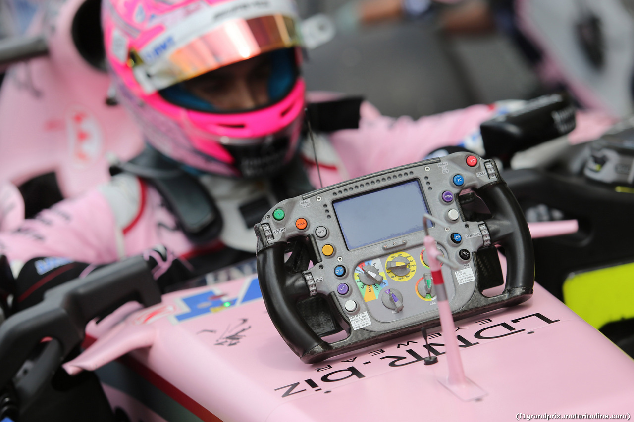 GP MALESIA, 01.10.2017 - Gara, Esteban Ocon (FRA) Sahara Force India F1 VJM10