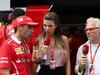 GP MALESIA, 01.10.2017 - Gara, Marc Gene (ESP), Test Driver Ferrari, Federica Masolin, Sky e Jacques Villeneuve (CAN)