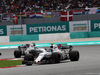 GP MALESIA, 01.10.2017 - Gara, Lance Stroll (CDN) Williams FW40 davanti a Felipe Massa (BRA) Williams FW40