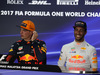 GP MALESIA, 01.10.2017 - Gara, Conferenza Stampa, Max Verstappen (NED) Red Bull Racing RB13 e Daniel Ricciardo (AUS) Red Bull Racing RB13