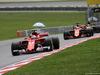 GP MALESIA, 01.10.2017 - Gara, Sebastian Vettel (GER) Ferrari SF70H davanti a Fernando Alonso (ESP) McLaren MCL32