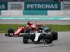 GP MALESIA, 01.10.2017 - Gara, Sebastian Vettel (GER) Ferrari SF70H e Valtteri Bottas (FIN) Mercedes AMG F1 W08