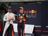 GP MALESIA, 01.10.2017 - Gara, Festeggiamenti, Max Verstappen (NED) Red Bull Racing RB13 vincitore e Daniel Ricciardo (AUS) Red Bull Racing RB13 3rd place