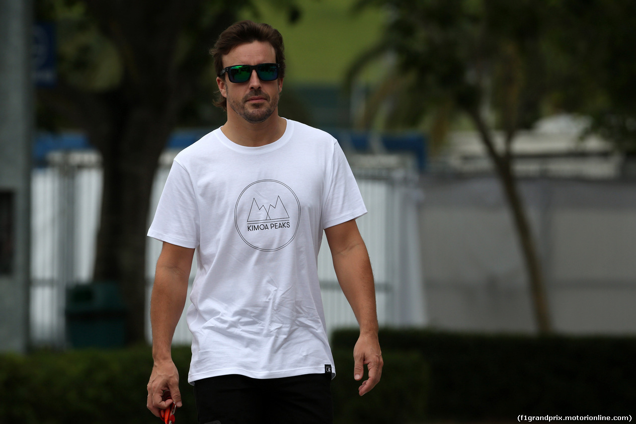GP MALESIA, 28.09.2017 - Fernando Alonso (ESP) McLaren MCL32