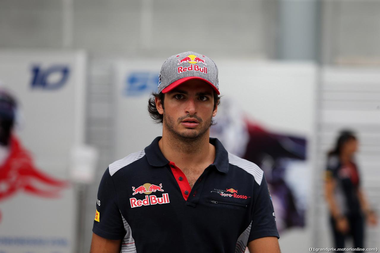 GP MALESIA, 28.09.2017 - Carlos Sainz Jr (ESP) Scuderia Toro Rosso STR12