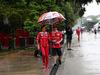 GP MALESIA, 28.09.2017 - Stefania Boccoli (ITA) Ferrari PR Officer e Kimi Raikkonen (FIN) Ferrari SF70H