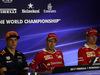 GP MALESIA, 28.09.2017 - Conferenza Stampa, Max Verstappen (NED) Red Bull Racing RB13, Sebastian Vettel (GER) Ferrari SF70H e Kimi Raikkonen (FIN) Ferrari SF70H