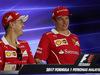 GP MALESIA, 28.09.2017 - Conferenza Stampa, Sebastian Vettel (GER) Ferrari SF70H e Kimi Raikkonen (FIN) Ferrari SF70H
