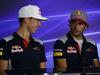 GP MALESIA, 28.09.2017 - Conferenza Stampa, Pierre Gasly (FRA) Scuderia Toro Rosso STR12 e Carlos Sainz Jr (ESP) Scuderia Toro Rosso STR12