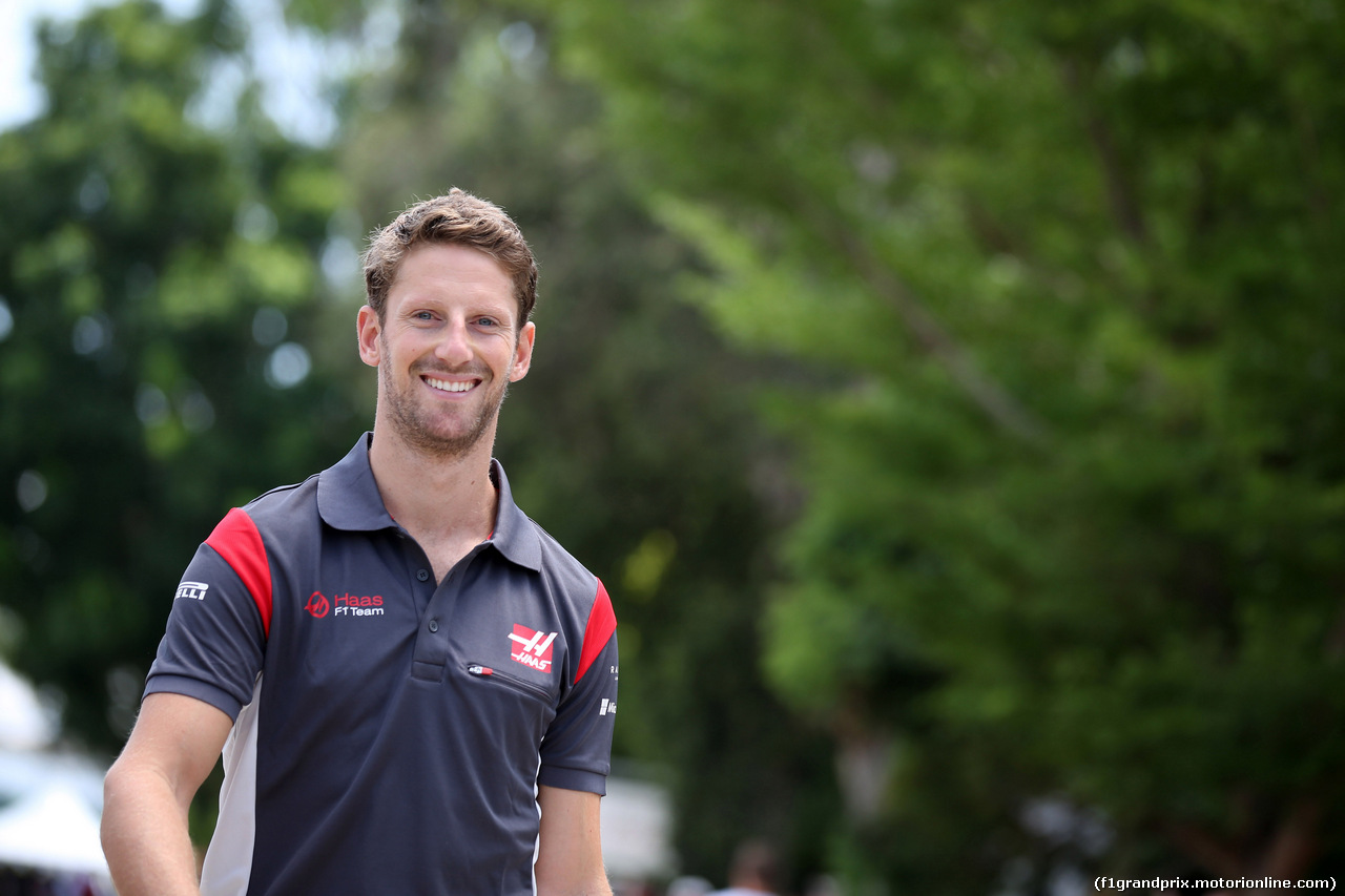 GP MALESIA, 30.09.2017 - Romain Grosjean (FRA) Haas F1 Team VF-17