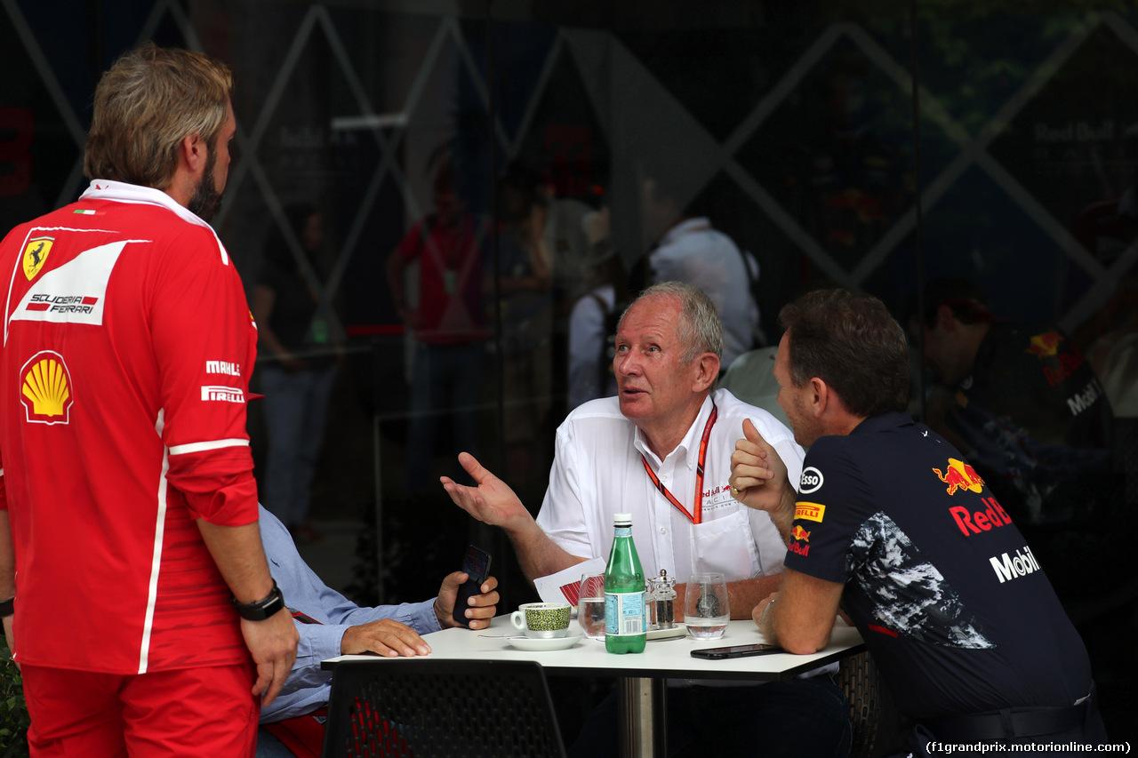 GP MALESIA, 30.09.2017 - Helmut Marko (AUT), Red Bull Racing, Red Bull Advisor
