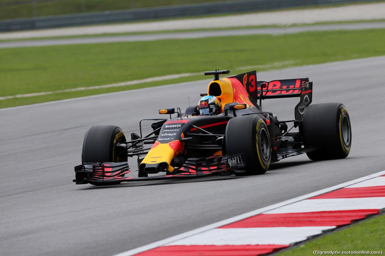 GP MALESIA, 30.09.2017 - Prove Libere 3, Daniel Ricciardo (AUS) Red Bull Racing RB13