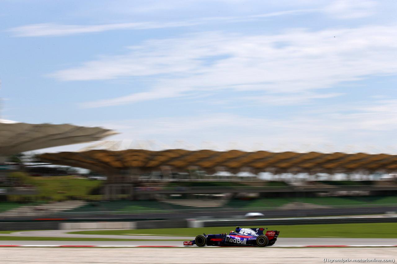 GP MALESIA, 30.09.2017 - Prove Libere 3, Carlos Sainz Jr (ESP) Scuderia Toro Rosso STR12