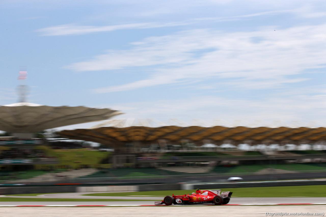 GP MALESIA, 30.09.2017 - Prove Libere 3, Kimi Raikkonen (FIN) Ferrari SF70H