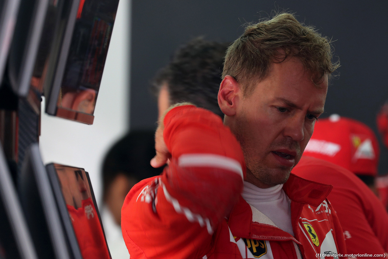 GP MALESIA, 30.09.2017 - Prove Libere 3, Sebastian Vettel (GER) Ferrari SF70H