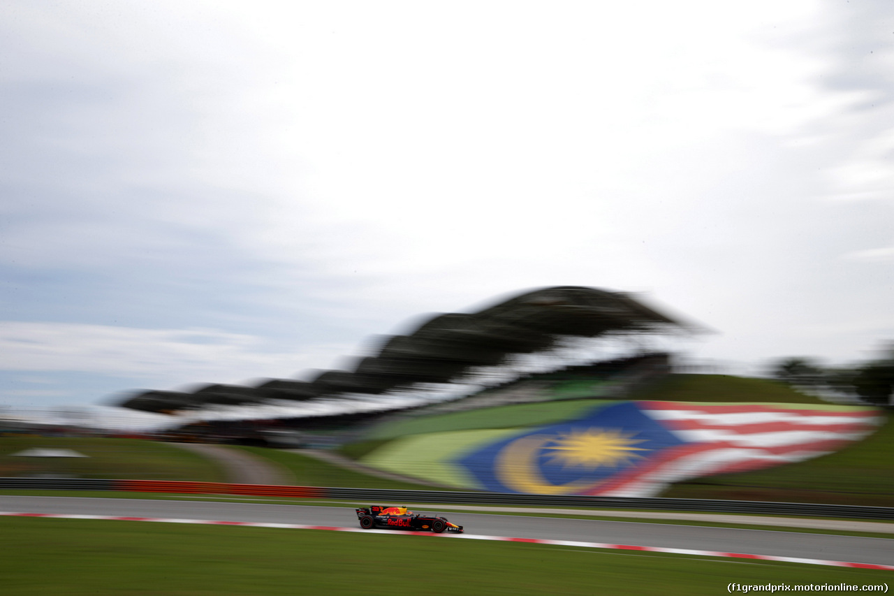 GP MALESIA, 30.09.2017 - Prove Libere 3, Max Verstappen (NED) Red Bull Racing RB13