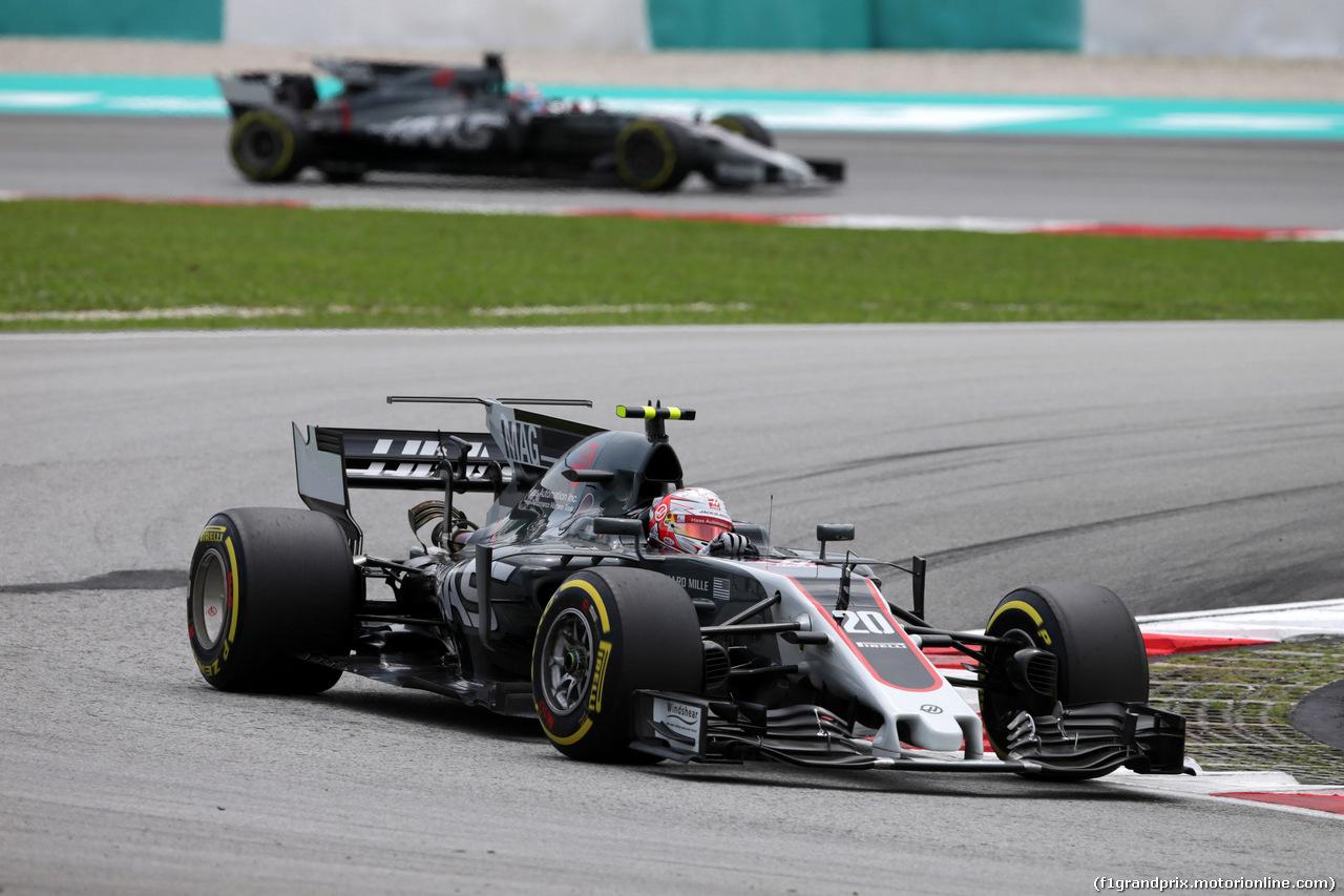 GP MALESIA, 30.09.2017 - Prove Libere 3, Kevin Magnussen (DEN) Haas F1 Team VF-17