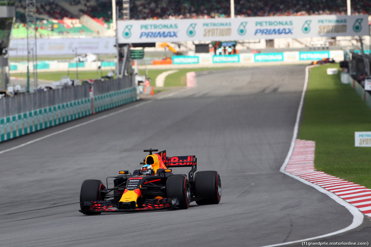 GP MALESIA, 30.09.2017 - Qualifiche, Daniel Ricciardo (AUS) Red Bull Racing RB13
