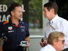 GP MALESIA, 30.09.2017 - Christian Horner (GBR), Red Bull Racing, Sporting Director e Garry Connelly, FIA Steward