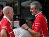 GP MALESIA, 30.09.2017 - Jock Clear (GBR) Ferrari Engineering Director e Maurizio Arrivabene (ITA) Ferrari Team Principal