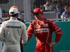 GP MALESIA, 30.09.2017 - Qualifiche, Lewis Hamilton (GBR) Mercedes AMG F1 W08 pole position e 2nd place Kimi Raikkonen (FIN) Ferrari SF70H