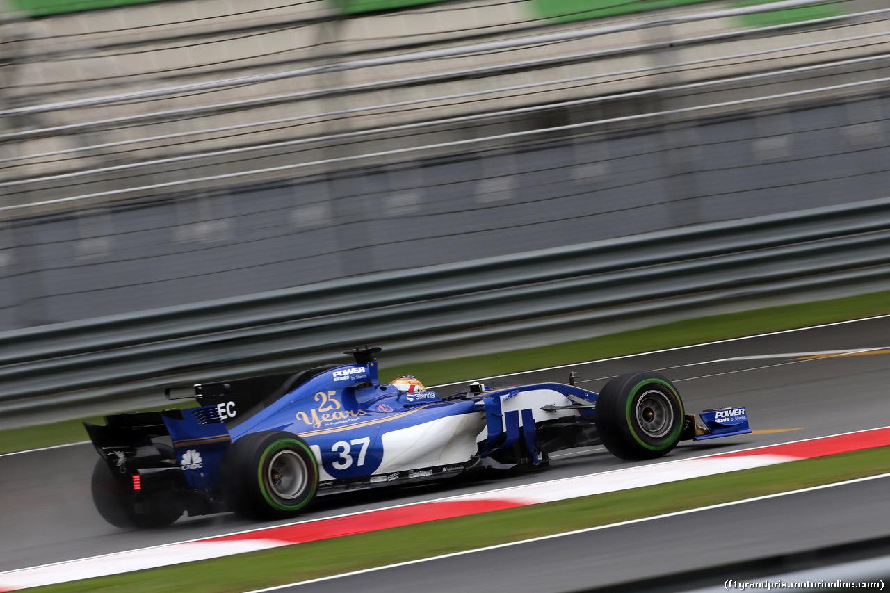 GP MALESIA, 29.09.2017 - Prove Libere 1, Charles Leclerc (MON) Test Driver, Sauber C36