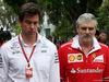 GP MALESIA, 29.09.2017 - Free Practice 1, Toto Wolff (GER) Mercedes AMG F1 Shareholder e Executive Director e Maurizio Arrivabene (ITA) Ferrari Team Principal