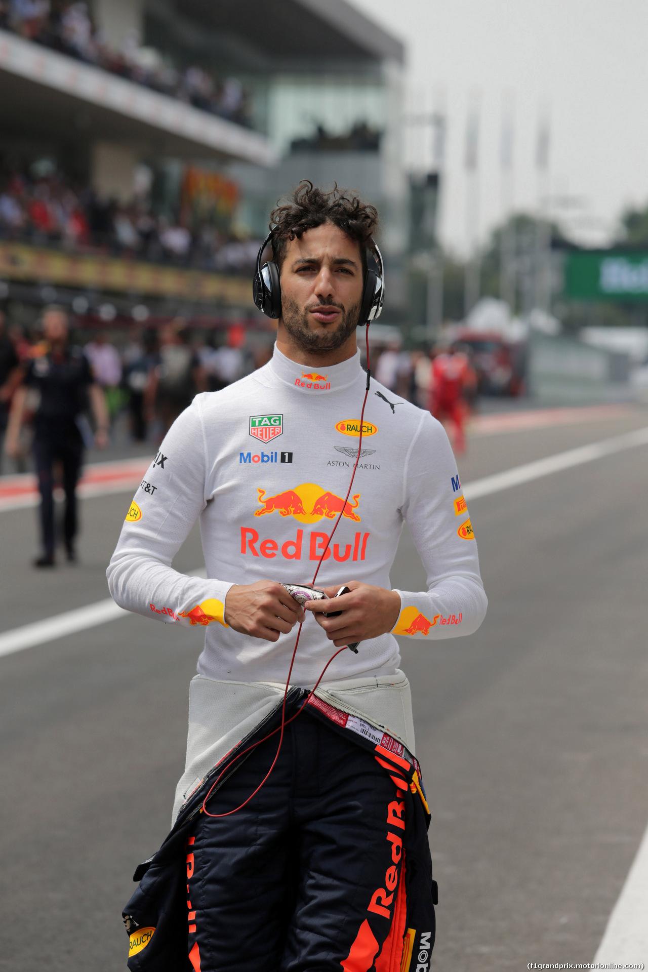 GP MESSICO, 29.10.2017 - Gara, Daniel Ricciardo (AUS) Red Bull Racing RB13