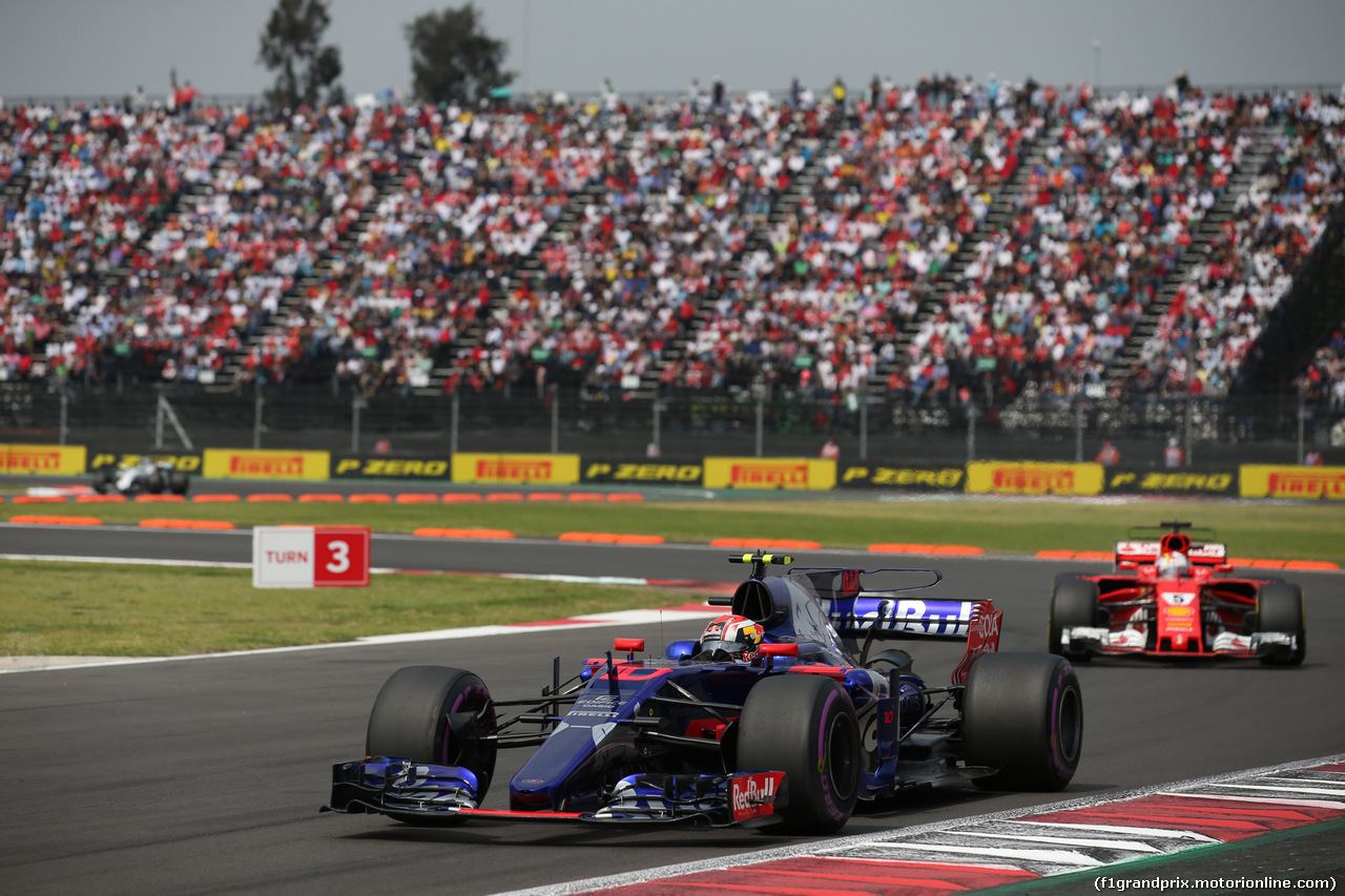 GP MESSICO, 29.10.2017 - Gara, Brendon Hartley (NZL) Scuderia Toro Rosso STR12