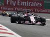 GP MESSICO, 29.10.2017 - Gara, Sergio Perez (MEX) Sahara Force India F1 VJM010