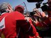 GP MESSICO, 28.10.2017 - Qualifiche, Maurizio Arrivabene (ITA) Ferrari Team Principal e Sebastian Vettel (GER) Ferrari SF70H pole position