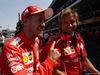 GP MESSICO, 28.10.2017 - Qualifiche, Sebastian Vettel (GER) Ferrari SF70H pole position with his personal trainer Antti Kontsas (FIN)